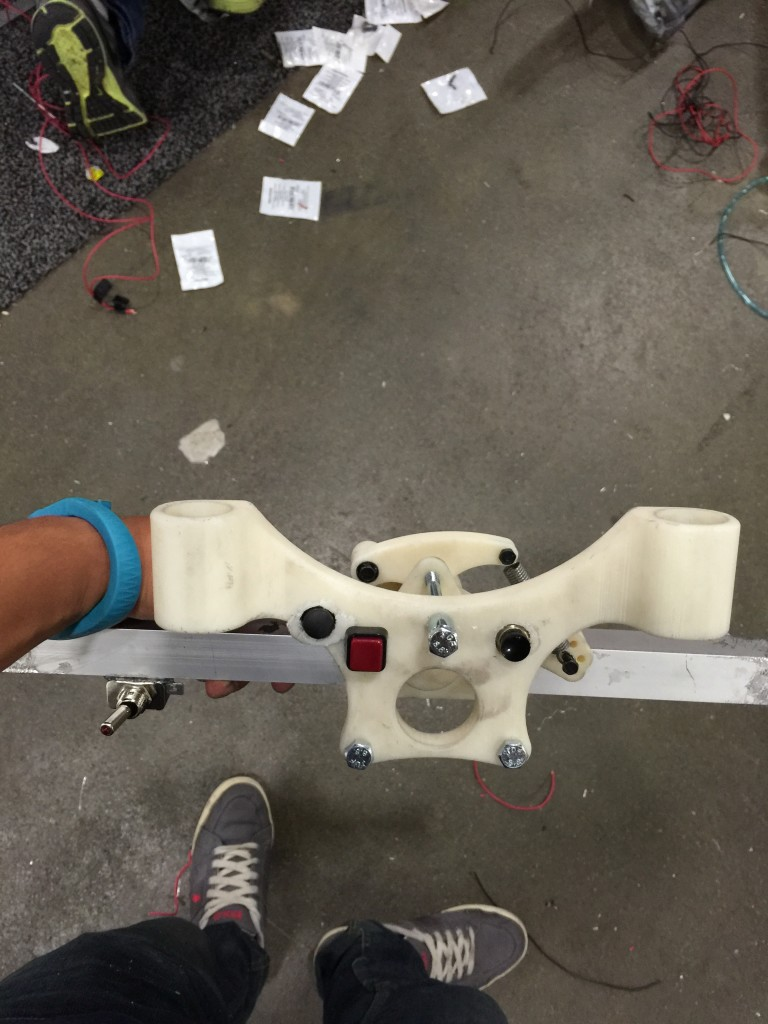 Printed Steering Wheel