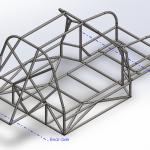 Tube frame design in Solidworks